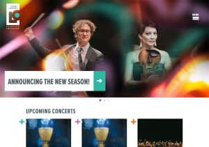 Louisville Orchestra's Website